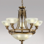 PBJ023-magazin_corpuri_iluminat_Bucuresti_corpuri_de_iluminat_dormitor_candelabru-clasic-bronz_sticla_ieftin
