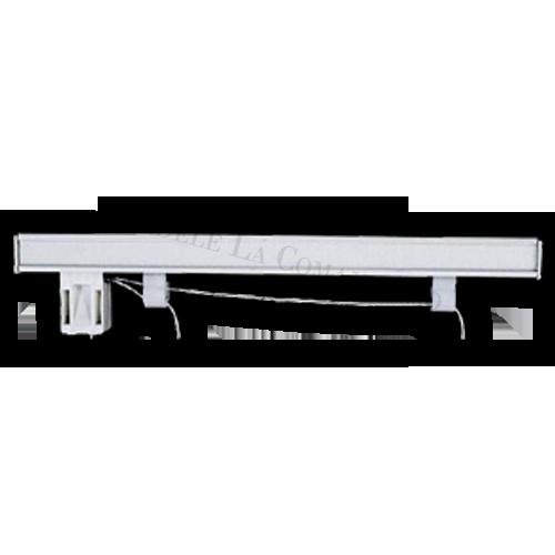 Sistem roman cu prindere în perete sau în tavan.  Material: Aluminiu