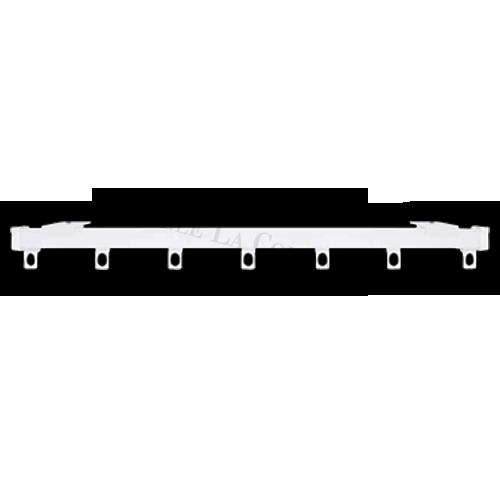 Şină Trim cu prindere în perete sau în tavan.  - Disponibilă şi pentru cute wave.