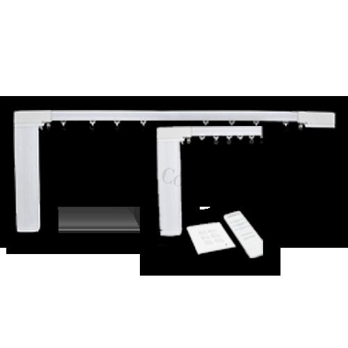Şină motorizată cu prindere în tavan (un singur canal)   Material: Aluminiu