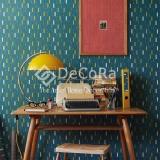 LSDW001_tapet_modern_albastru_dungi_alb_galben