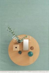 PLDES 014 RAINBOW covor lana dreptunghi lucrat manual fistic